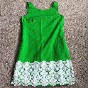 Lilly Pulitzer green Jubilee dress
